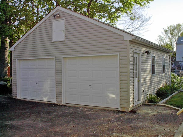 Garage additions remodeling chester county jfr contracting for Free standing garage