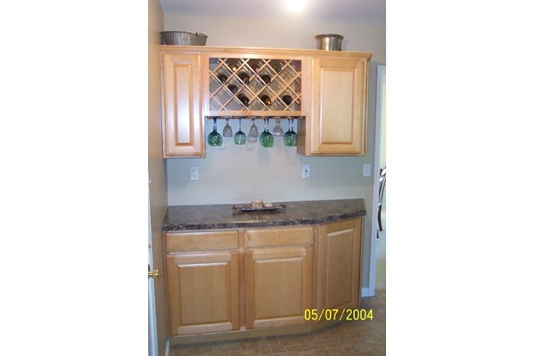 Landenburg Custom Home Bar General Contractor