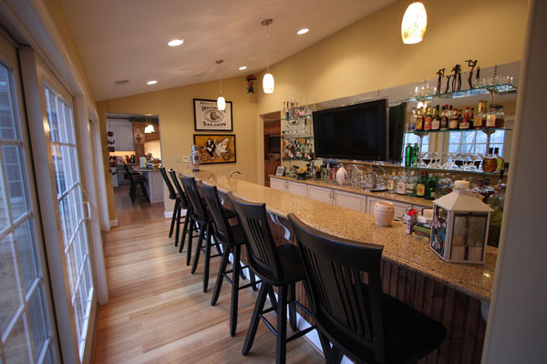Malvern PA Custom Home Bar Contractor