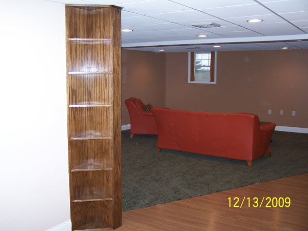 Nottingham Custom Basement Finished General Contractor