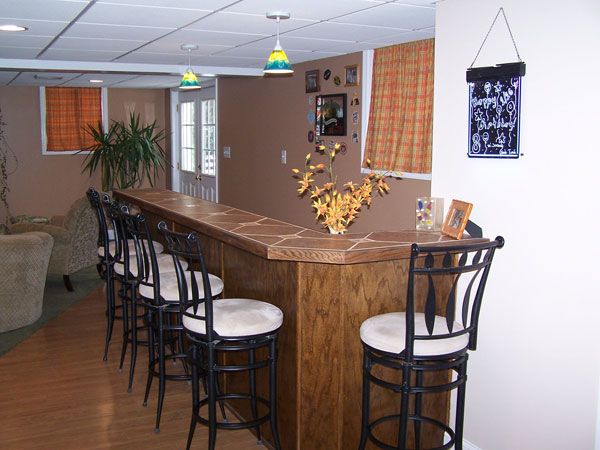 Nottingham PA Custom Home Bar Contractor