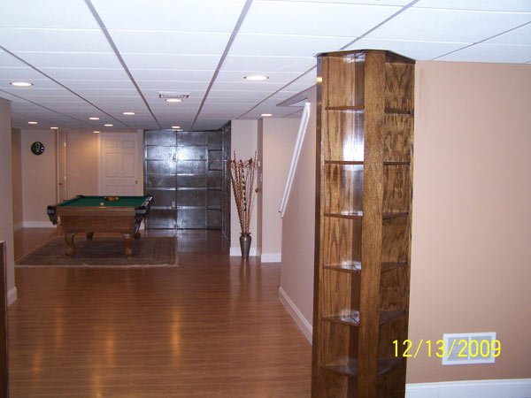 Custom Basement Finish Out – Nottingham, PA