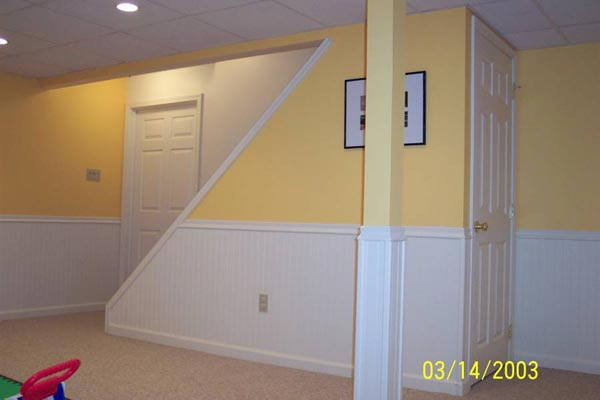 Basement Finish Out – West Grove, PA